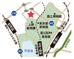 東京藝MAP