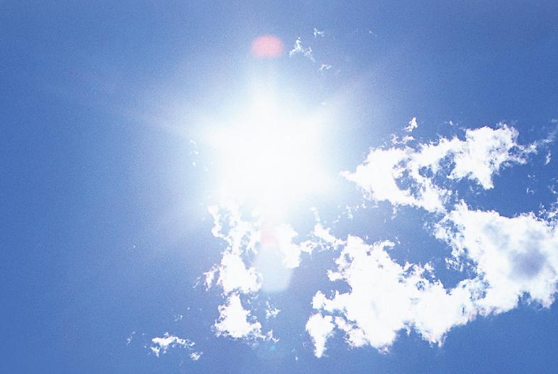 初夏の日差しは、要注意!